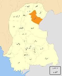 sukkur map sukkur district