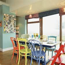 colorful kitchen chairs i love this chair concept super bright and different dining room