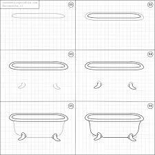 Easy Step Bathtub How To Draw A Bathtub Random Things To Pinterest Bathtubs