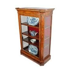 Etagere Antique Satinwood Breakfront Display Cabinet Antiques Atlas Furniture