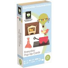 amazon com cricut 2001018 everyday pop up cards cartridge