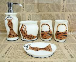 Cheetah Print Bathroom Set by Leopard Print Bathroom Decor Inspiration And Design Ideas For