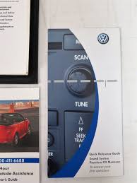 2005 volkswagen vw golf owners manual guide book ebay