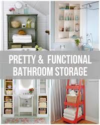 clever bathroom storage ideas pretty functional bathroom storage ideas bathroom storage