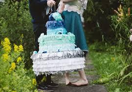 wedding cake pinata 12 wedding pinatas we re obsessed with