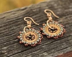 109 best beaded earrings images on pinterest beaded earrings