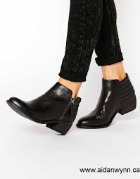 womens leather ankle boots canada buy now canada dune parry black leather chelsea flat ankle