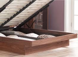 Walnut Ottoman Endearing Wood Ottoman Bed Walnut Ottoman Bed Frame