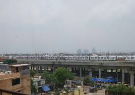 Blue Line Delhi Metro Map by Dmrc Invites Bids For Blue Line U0027s New Elevated Stabling Yard In