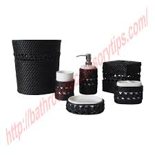 Oil Rubbed Bronze Bathroom Accessory Sets by Black Bathroom Accessories 4 Black Bathroom Accessories Tsc