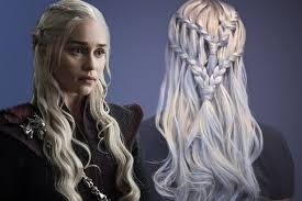 get khaleesi u0027s game of thrones hair with this beautiful waterfall