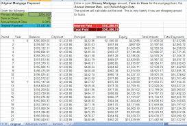 Amortization Calculator Excel Template 28 Mortgage Payment Calculator Excel Template