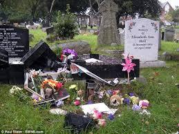 elliot grave vandals desecrate baby s grave in horrific