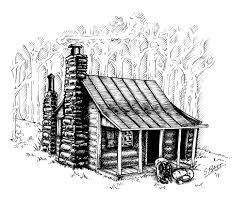 log cabin drawings cabin drawings home design