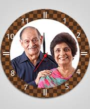 Personalized Picture Clocks Photohaat Personalized U0026 Custom Gifts Store Online India