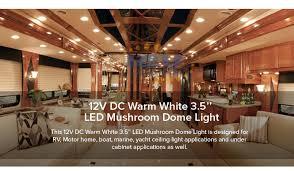 led ceiling dome light 10pcs led 12v 3 5 ceiling light interior rv caravan trailer marine