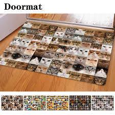 Funny Area Rugs Rag Rug Animal Print Door Mats U0026 Floor Mats Ebay