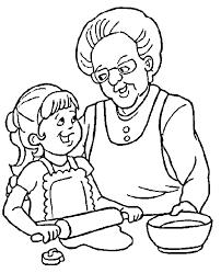 Papi et mamie Coloriages à Imprimer Colorier  Coloriages1001fr