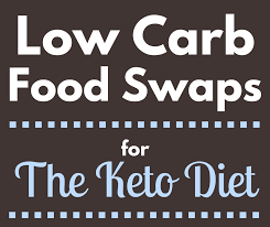 low carb foods list smart swaps for the keto diet u2022 healthy
