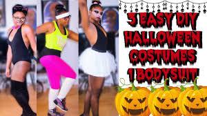 Exercise Halloween Costumes Easy Diy Halloween Costumes 3 Halloween Costumes 1 Bodysuit