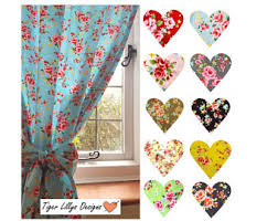 Made To Measure Drapes Retro Curtains Etsy