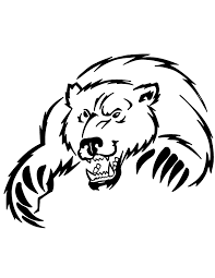 big brown bear coloring u0026 coloring pages