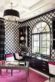 30 black and white home offices that leave you spellbound office