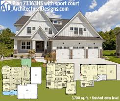 Architectural Designs House Plans by Plan 73363hs Stunning Exclusive Craftsman With Optional Indoor