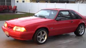 1993 mustang lx 1993 mustang lx clean fox with a healthy idle