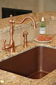 copper faucets kitchen what faucet goes with a copper sink nomadic decorator
