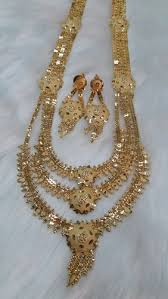 big gold fashion necklace images Ap big rani haar 4 necklace set at rs 1625 set gold plated jpg