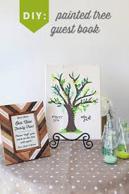 tree guest book make this diy painted guest book tree