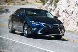 blue lexus 2017 lexus es 300h hybrid first test review