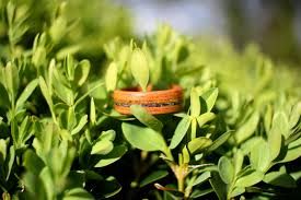 mothers earth simply wood birth flower ring for mothers earth
