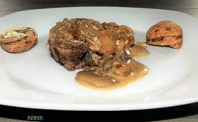 cuisiner du marcassin recette de moi le marcassin j apprécie les noix et les chignons