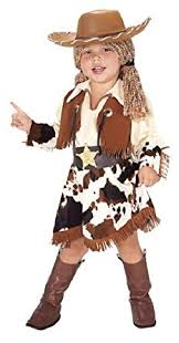 Halloween Costumes Girls Amazon Amazon Girls Toddler Cowgirl Costume Clothing