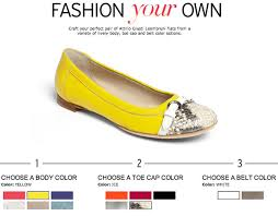 design your shoes design your own attilio giusti leombruni flats