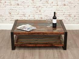 buy baumhaus urban chic rectangular coffee table online cfs uk