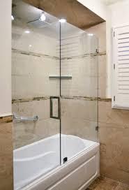 custom glass sliding doors sliding shower doors for bathtubs home designs pinterest