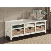 Winslow White Shoe Storage Cubbie Bench Cubby Benches