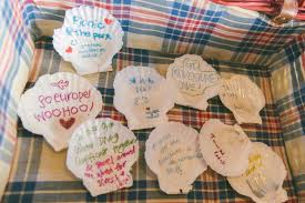 wedding wishes nautical and liqun wedding wishes idea writing on sea shells the
