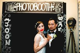 photobooth for wedding retro wedding photo booth sign for the reception