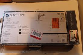 Glacier Bay Pull Down Kitchen Faucet by Glacier Bay Keelia Single Handle Pull Out Sprayer Kitchen Faucet