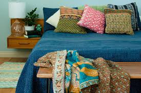 navy quilt bedding dyed indigo bedding dignify