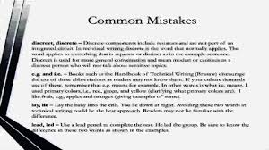 examples of technical writing mistakes resume template example