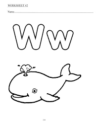 12 best w activities images on pinterest preschool letters