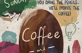design a creative coffee shop meetup poster design cuts design cuts