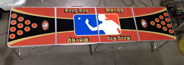 Custom Beer Pong Tables Vital Signs  Signs  Banners - Beer pong table designs