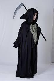 Grim Reaper Costume Kids Unisex Grim Reaper Costume