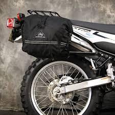 Tire Rack Motorcycle Yamaha Xt250 Sl Soft Luggage Side Rack